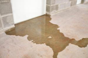 Leak in a basement